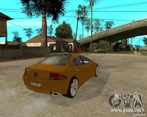 VC Viola II pour GTA San Andreas sur la vue arrière gauche