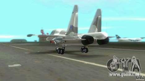 VC Air Force pour GTA Vice City vue arrière
