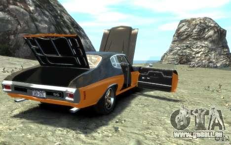Chevrolet Chevelle SS 1970 für GTA 4-Motor