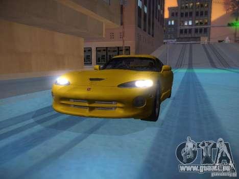 Dodge Viper 1996 für GTA San Andreas Innen