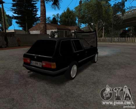 BMW 320i Touring 1989 pour GTA San Andreas vue arrière