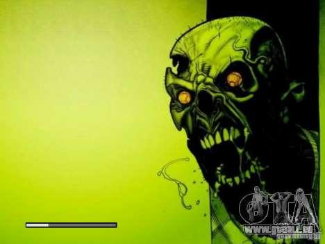 Écran de démarrage de Zombies pour GTA San Andreas