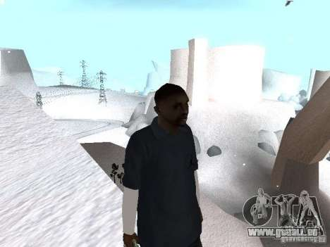 Snow MOD 2012-2013 pour GTA San Andreas troisième écran