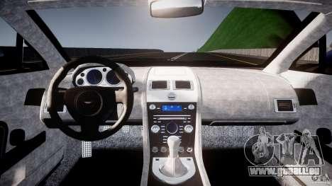 Aston Martin V8 Vantage V1.0 pour GTA 4 est un droit