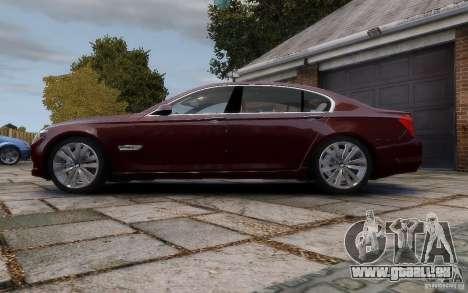 BMW 760Li 2011 pour GTA 4 est une gauche