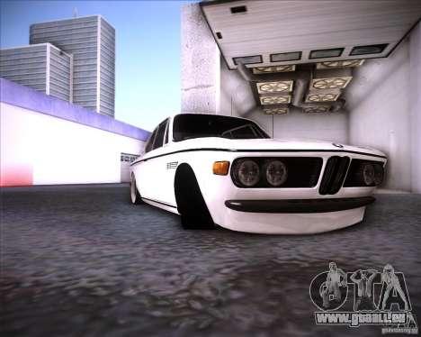 BMW 3.0 CSL Stunning 1971 pour GTA San Andreas vue arrière