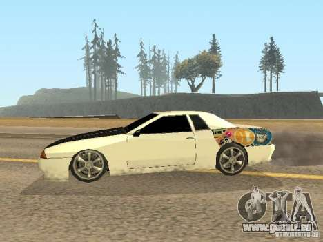 Elégie de Foresto_O pour GTA San Andreas vue de droite
