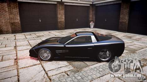 Coquette FBI car für GTA 4 Rückansicht