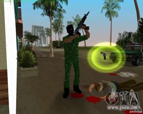 AK-74U für GTA Vice City Screenshot her