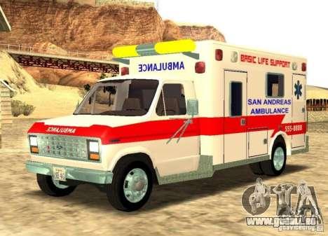 Ford Econoline Ambulance für GTA San Andreas
