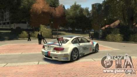 BMW M3 Gt2 pour GTA 4 est un droit
