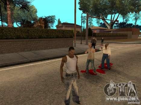 The Walking Dead pour GTA San Andreas deuxième écran