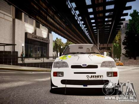 Ford Escort RS Cosworth 1992 für GTA 4 Innenansicht