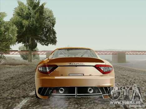 Maserati GranTurismo MC 2009 pour GTA San Andreas vue de droite