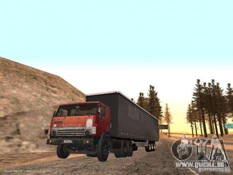 KAMAZ 5410 pour GTA San Andreas vue de droite