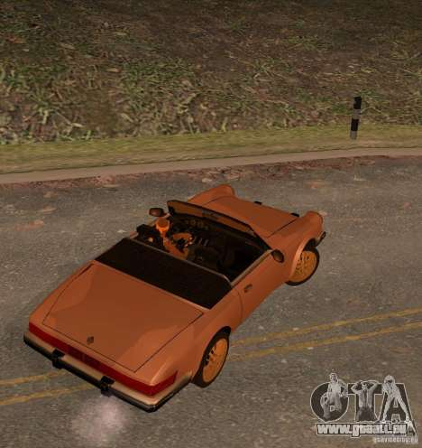 New Comet für GTA San Andreas linke Ansicht