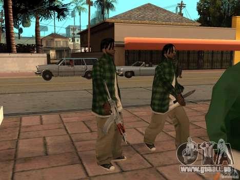 Pak inländischen Waffen Version 3 für GTA San Andreas sechsten Screenshot