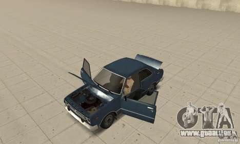 Toyota Corolla 1977 pour GTA San Andreas vue arrière