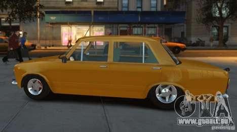 Fiat 124 pour GTA 4 Vue arrière de la gauche