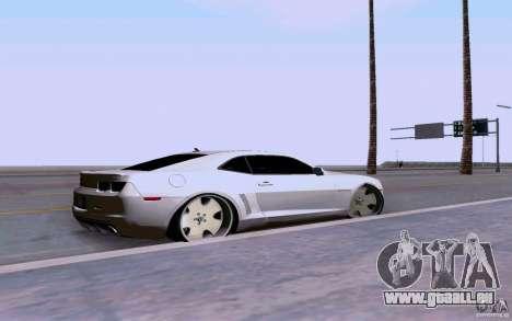 Chevrolet Camaro Super Sport 2012 für GTA San Andreas linke Ansicht