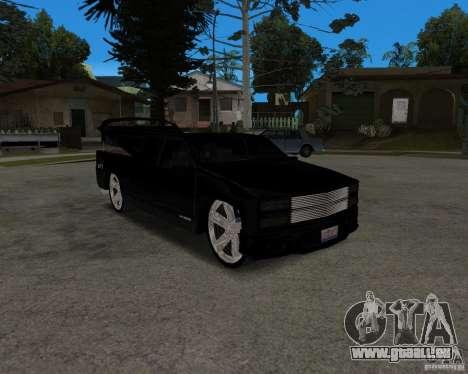 Chevrolet Silverado 1996 Lowrider für GTA San Andreas