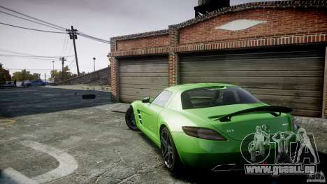 Mercedes-Benz SLS AMG 2010 [EPM] pour GTA 4 Salon