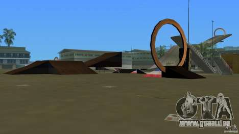 Stunt Dock V2.0 für GTA Vice City dritte Screenshot