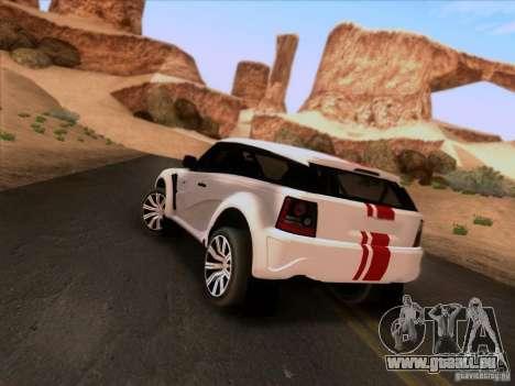 Bowler EXR S 2012 pour GTA San Andreas laissé vue