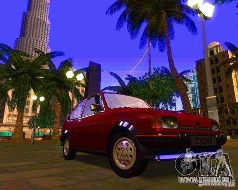 Ford Fiesta XR2 Mk2 1984 pour GTA San Andreas