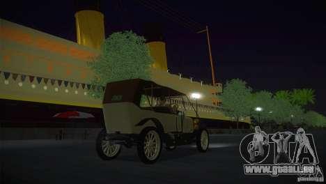 Russo-Balt avec 2440 pour GTA San Andreas sur la vue arrière gauche