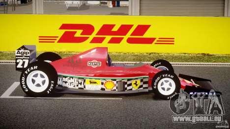 Ferrari Formula 1 pour GTA 4 est une vue de l'intérieur