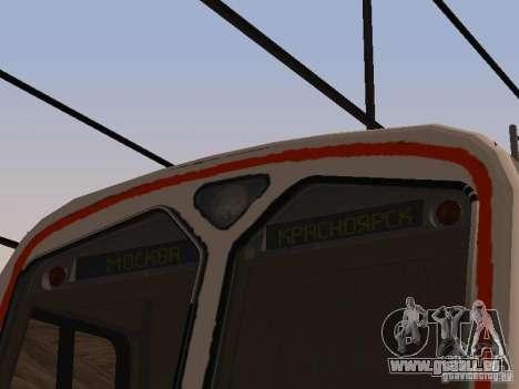 0073 ed4mk pour GTA San Andreas vue arrière
