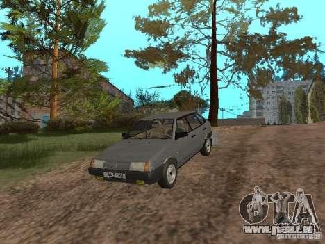 Vaz-2109 Spoutnik 1987 v1.2 pour GTA San Andreas