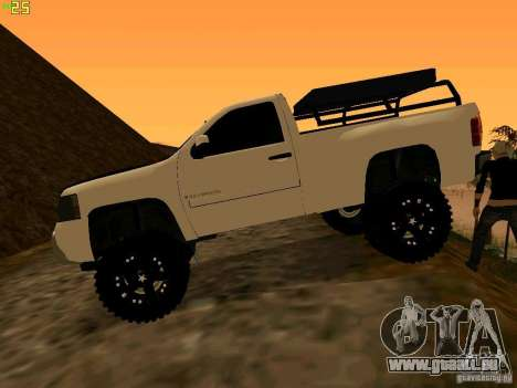 Chevrolet Silverado Final für GTA San Andreas linke Ansicht