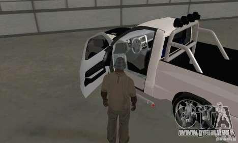 Dodge Ram SRT-10 Tuning für GTA San Andreas Rückansicht