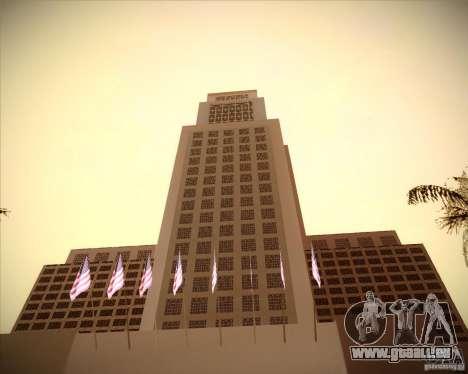 Neue Texturen des Rathauses für GTA San Andreas dritten Screenshot