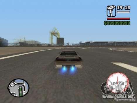 Compteur de vitesse DepositFiles pour GTA San Andreas troisième écran