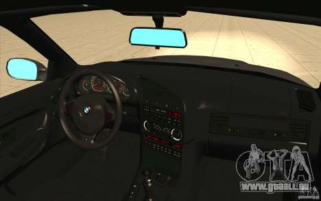 BMW E36 M3 - Stock pour GTA San Andreas vue de dessus