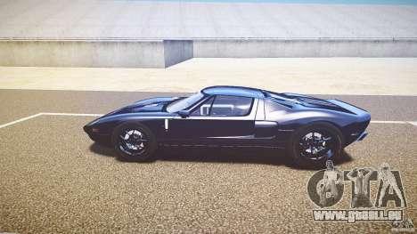 Ford GT1000 2006 Hennessey [EPM] EXTREME VERSION für GTA 4 Innenansicht