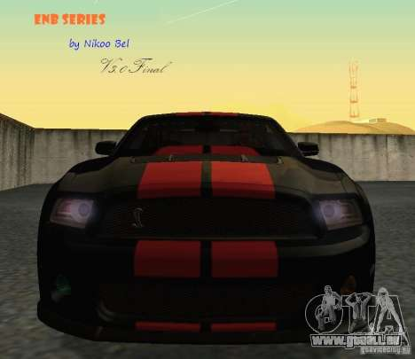 ENBSeries by Nikoo Bel v3.0 Final pour GTA San Andreas