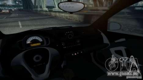 Smart ForTwo 2012 v1.0 pour GTA 4 Vue arrière de la gauche