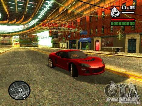 Lotus Europe S pour GTA San Andreas
