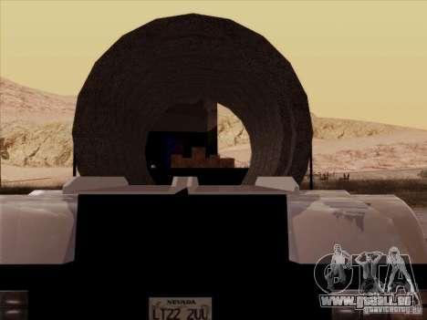 Anhänger, Peterbilt 378 Custom für GTA San Andreas rechten Ansicht