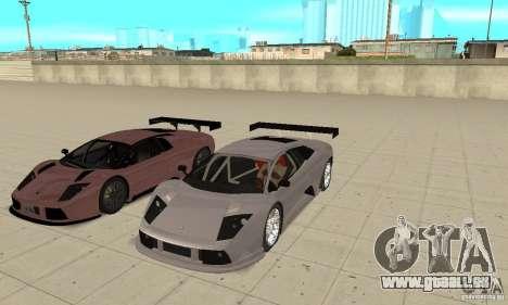 Lamborghini Murcielago R GT pour GTA San Andreas salon