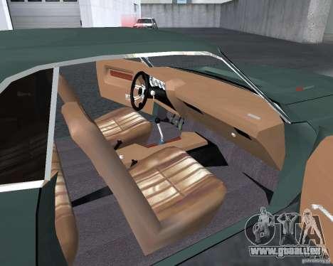 Dodge Challenger V1.0 pour GTA San Andreas laissé vue