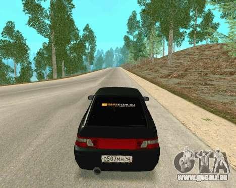 VAZ 21123 für GTA San Andreas Rückansicht