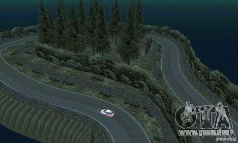 L'itinéraire du rallye pour GTA San Andreas onzième écran