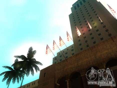 City Hall Los Angeles für GTA San Andreas fünften Screenshot
