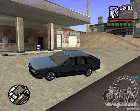Audi 100 Avant pour GTA San Andreas laissé vue