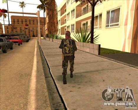 Haut Dušmana von COD4 für GTA San Andreas dritten Screenshot
